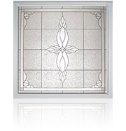 Decorative Bathroom Window